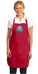 Field Hockey Large Apron Red