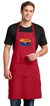 Arizona Large Apron Red