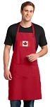 Canada Large Apron Red