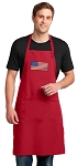 American Flag Large Apron Red