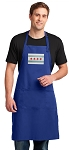 Chicago Flag Large Apron Royal