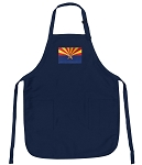 Deluxe Arizona Apron Navy