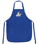 Cute Cats Apron Blue