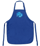 Deluxe Dolphins Apron Blue