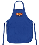 Deluxe Arizona Apron Blue