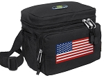 American Flag Lunch Bag USA Flag Lunch Boxes