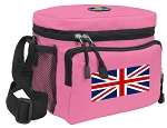 England British Flag Lunch Bag United Kingdom Lunchbox for Girls & Ladies