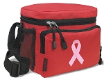 Pink Ribbon Lunch Bags Pink Ribbon Lunch Coolers