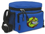 Softball Lunch Bags Softball Lunch Totes Blue