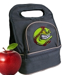 Softball Lunch Bag 2 Section