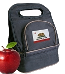California Flag Lunch Bag 2 Section