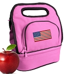 American Flag Lunch Bag Girls or Ladies