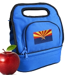 Arizona Lunch Bag 2 Section Blue
