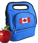 Canada Lunch Bag Blue