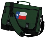 Texas Flag Messenger Bag Green