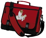 Cute Cats Messenger Bag Red