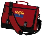 Arizona Messenger Bag Red