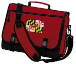 Maryland Messenger Bag Red