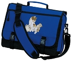 Cute Cats Messenger Bag Royal