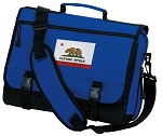 California Flag Messenger Bag Royal