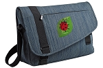 Ladybug Messenger Laptop Bag Stylish Navy