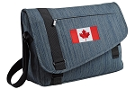 Canada Messenger Laptop Bag Stylish Navy
