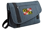 Maryland Messenger Laptop Bag Stylish Navy