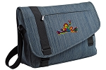 Peace Frogs Messenger Laptop Bag Stylish Navy
