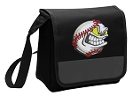 Baseball Lunch Bag Cooler Black