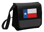 Texas Flag Lunch Bag Cooler Black