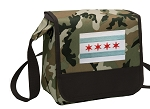 Chicago Flag Lunch Bag Cooler Camo