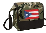 Puerto Rico Lunch Bag Cooler Camo