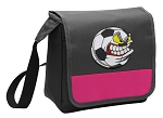 Soccer Fan Lunch Bag Cooler Pink