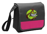Softball Lunch Bag Cooler Pink