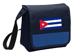 Cuban Flag Lunch Bag Cooler Blue