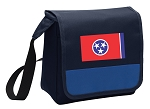 Tennessee Flag Lunch Bag Cooler Blue