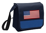 American Flag Lunch Bag Tote