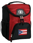 Puerto Rico Best Lunch Bag Cooler Red