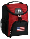 American Flag Best Lunch Bag Cooler Red