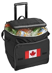 Canadian Flag Rolling Cooler Bag