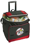 Baseball Rolling Cooler Bag Red