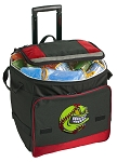 Rolling Softball Cooler Bag Red