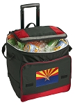 Arizona Rolling Cooler Bag Red