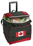 Canada Rolling Cooler Bag Blue