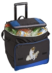 Cute Cats Rolling Cooler Bag Blue