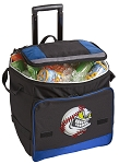Baseball Rolling Cooler Bag Blue