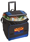 Arizona Rolling Cooler Bag Blue