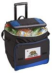 California Flag Rolling Cooler Bag Blue