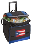 Puerto Rico Rolling Cooler Bag Blue