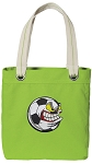 Soccer Fan Tote Bag RICH COTTON CANVAS Green